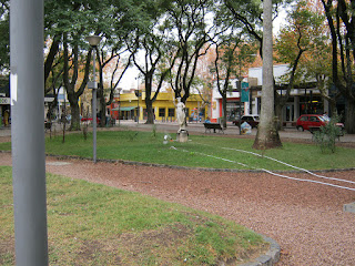 sarandi square at durazno uruguay