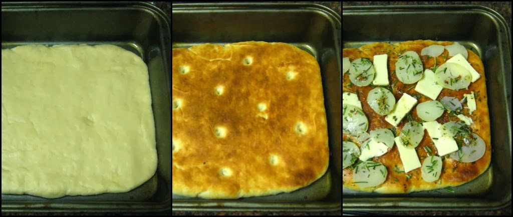 Nan's yum-yums!: Focaccia - 3 ways | Tomato-Cheese-Basil ...