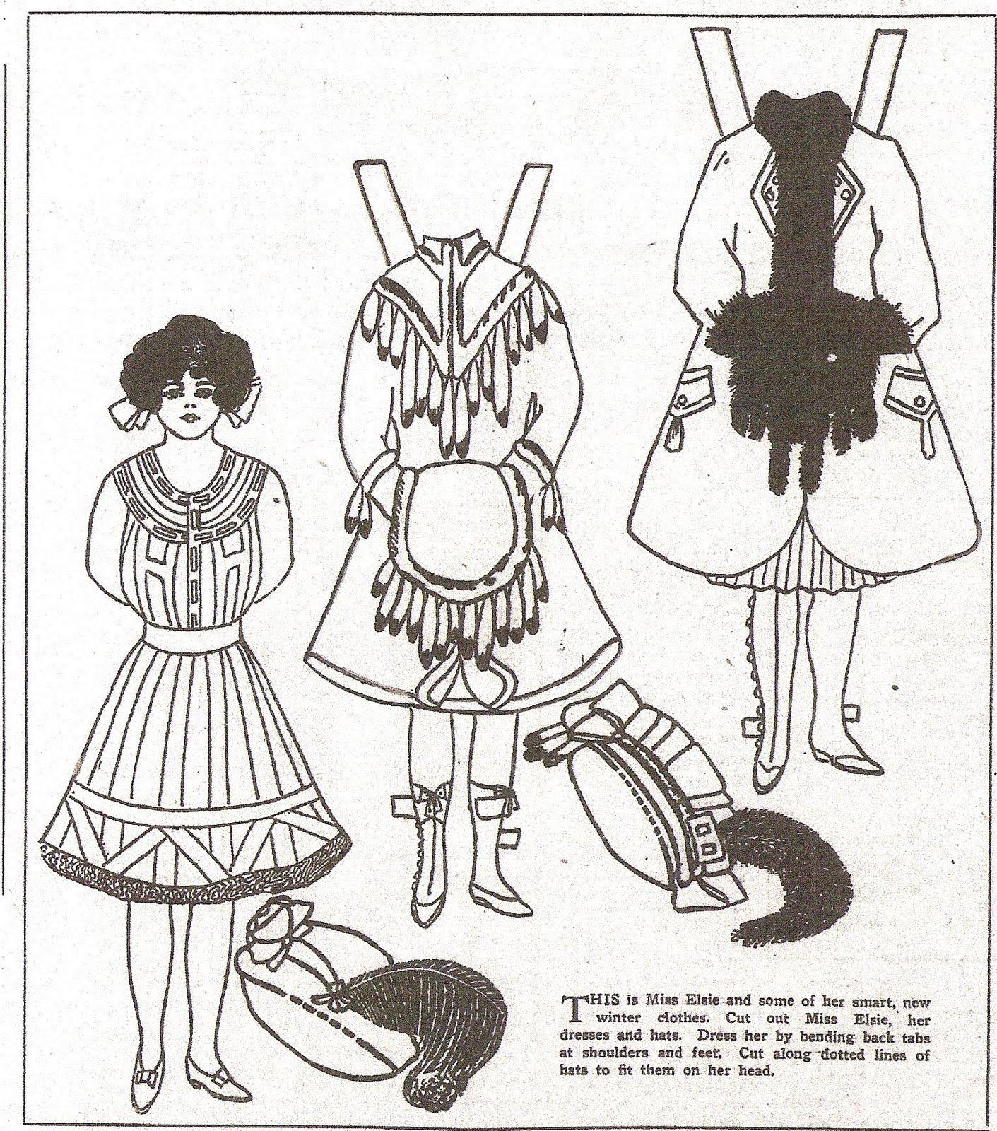 Paper Dolls Winter Clothes http://mostlypaperdolls.blogspot.com/2011 ...