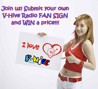 Join the V-Hive Radio FanSign Contest!