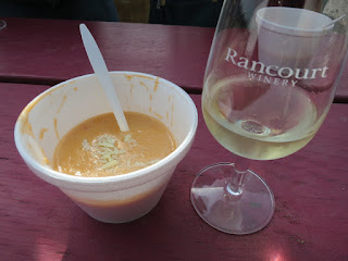 Lobster Bisque with Rancourt Chardonnay Reserve