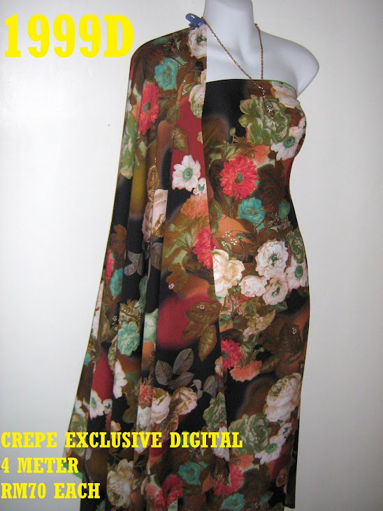 CP 1999D: CREPE EXCLUSIVE DIGITAL PRINTED, 4 METER