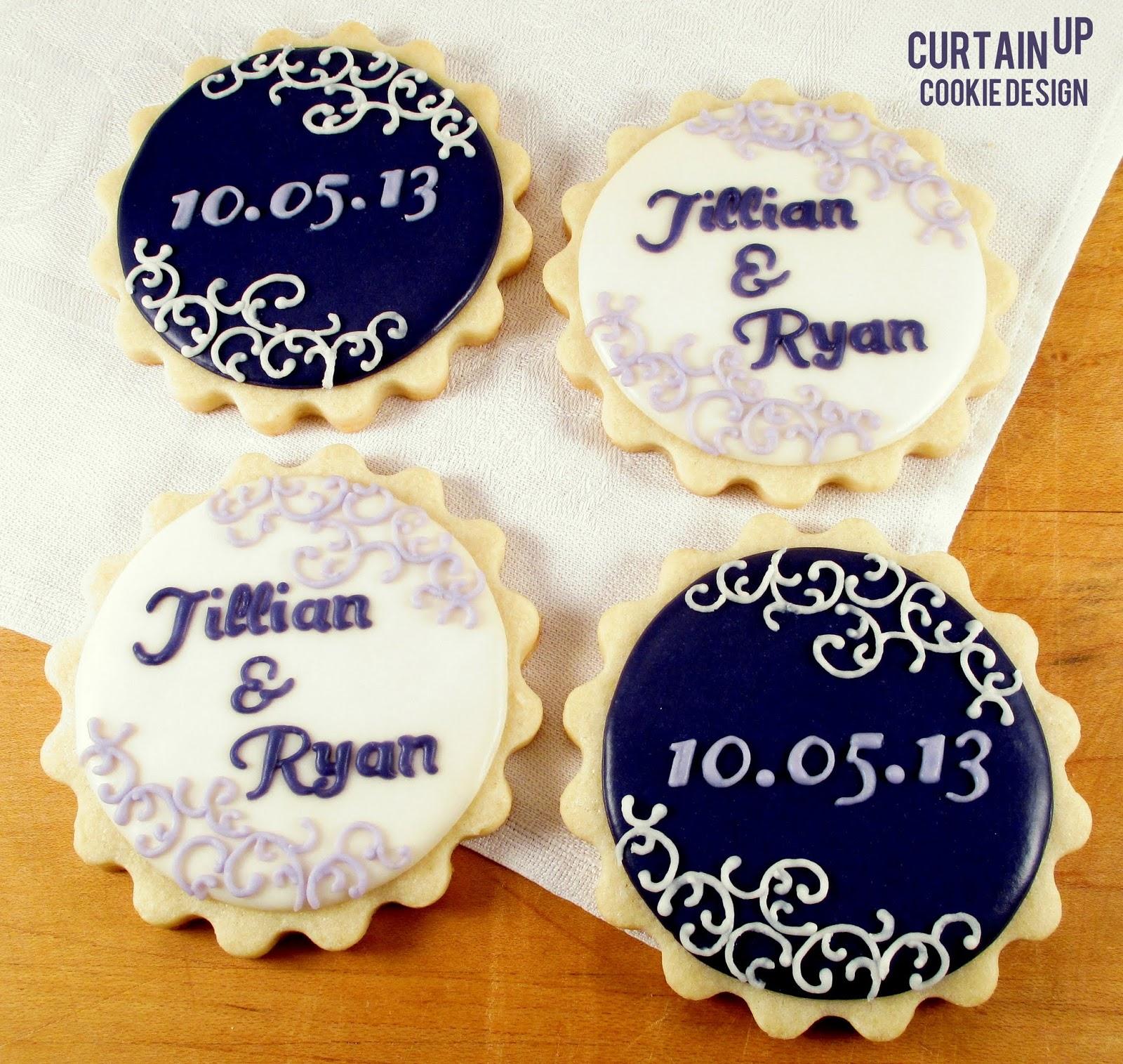 bridal shower cookies jillian ryan
