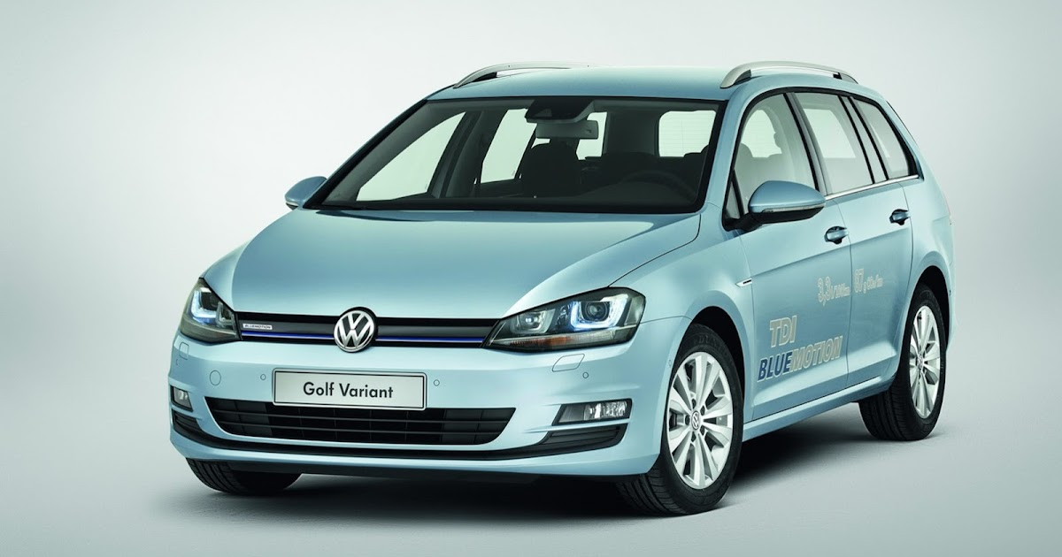 2014 Vw Golf Variant Tdi Bluemotion Rated At 713mpg Auto Car Tips
