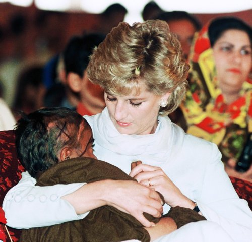 In her own words: Princess Diana on comforting the sick and dying