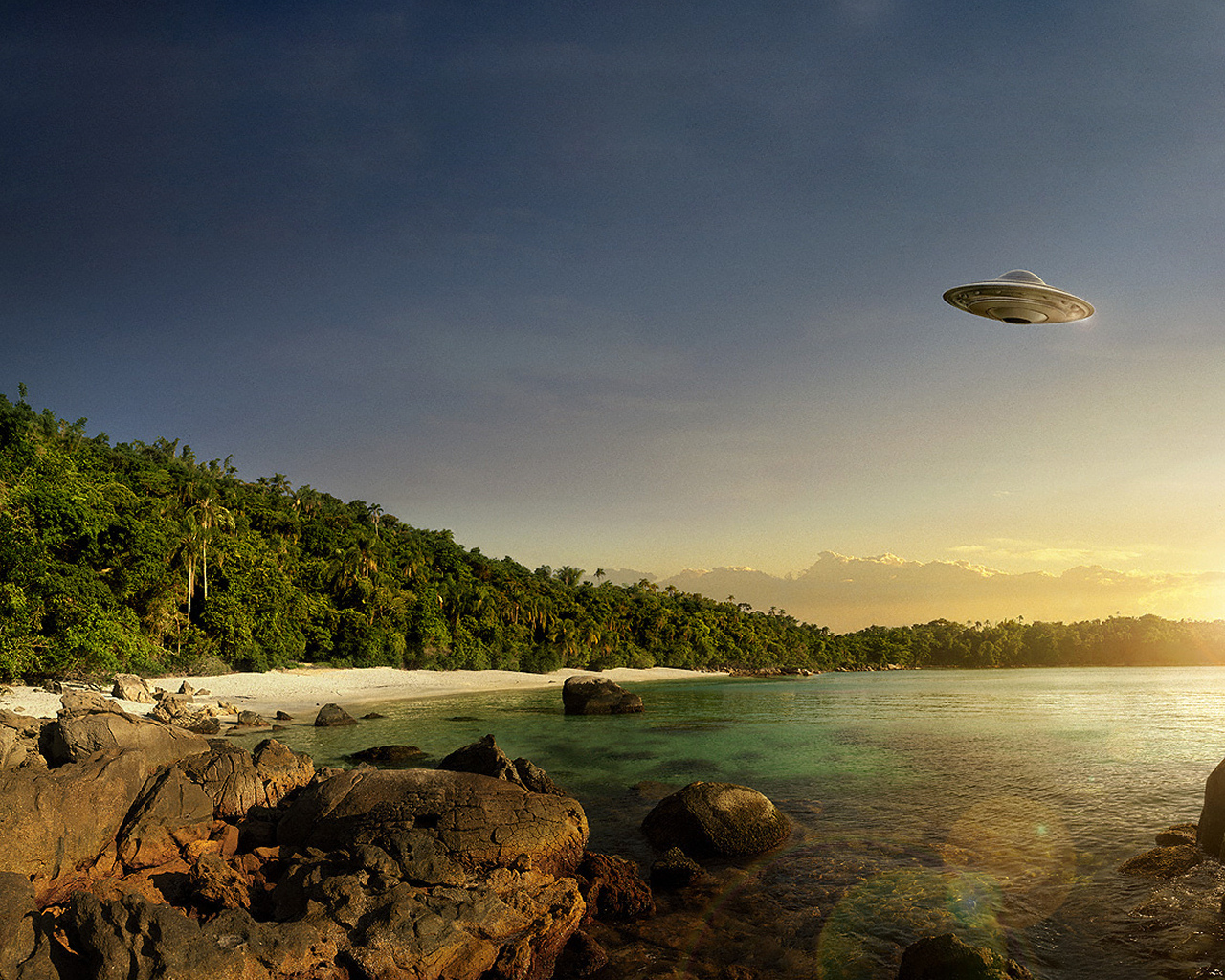 Real Ufo Wallpaper