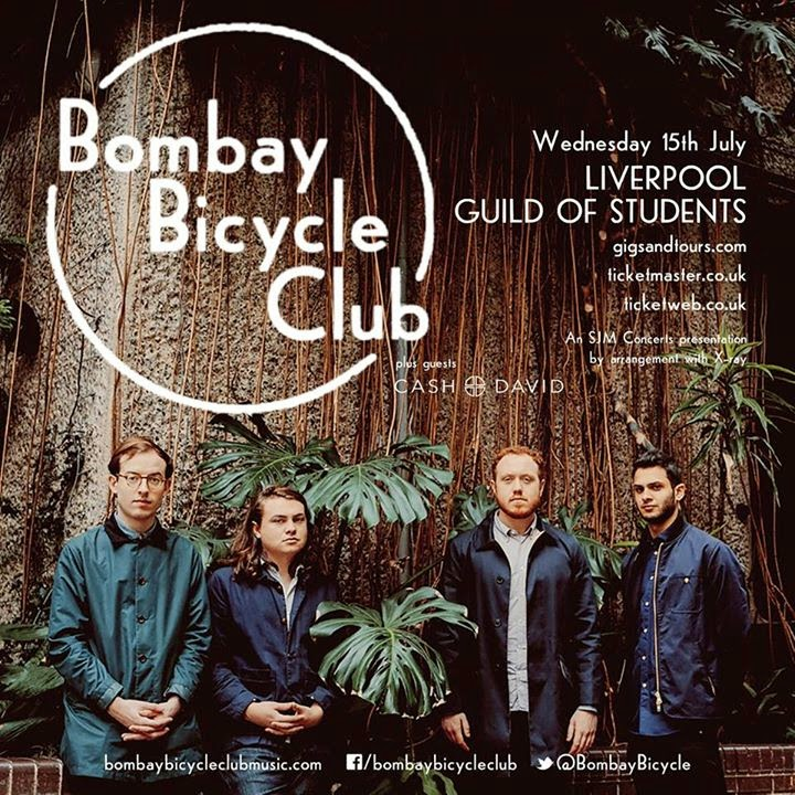 Bombay Bicycle Club Liverpool Guild of Students