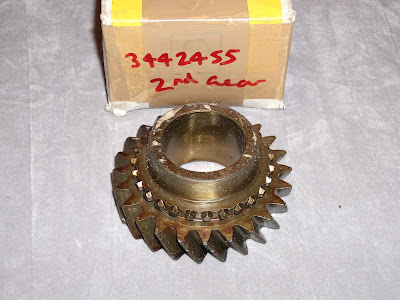 Image of Opel Commodore B gearbox part
