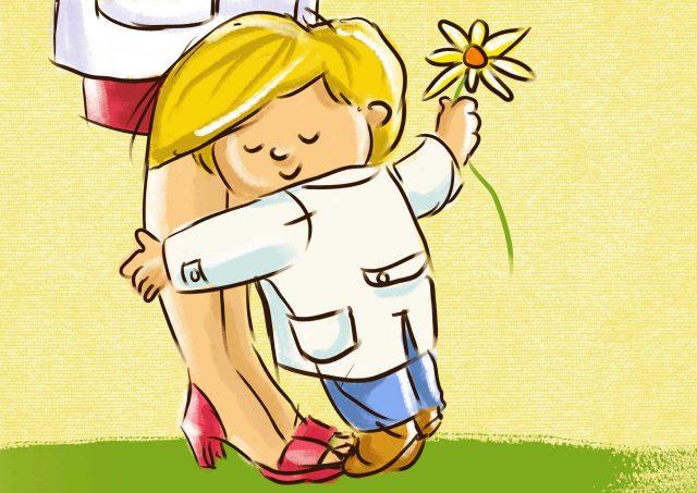 Rosanadesiempre poema adi s a la maestra for Adios jardin querido