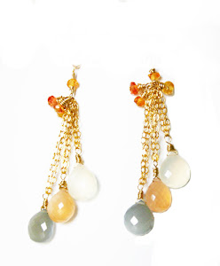 Contradiction of cold and warmth, who say they cannot be a perfect match? Saphires and Moonstones