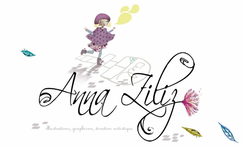 ANNA ZILIZ : illustrations, graphisme et créations
