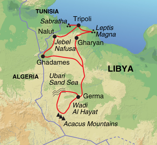 Menas Associates Libya Cross border security problems continue