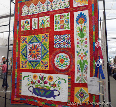 Loose Threads: Indiana Heritage Quilt Show Quilts : indiana heritage quilt show - Adamdwight.com