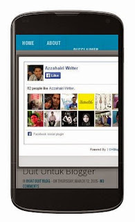 cara semak blog mobile friendly