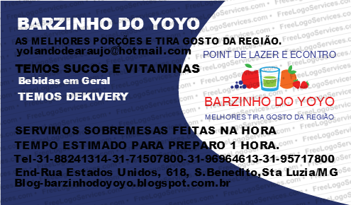 BARZINHO DO YOYO