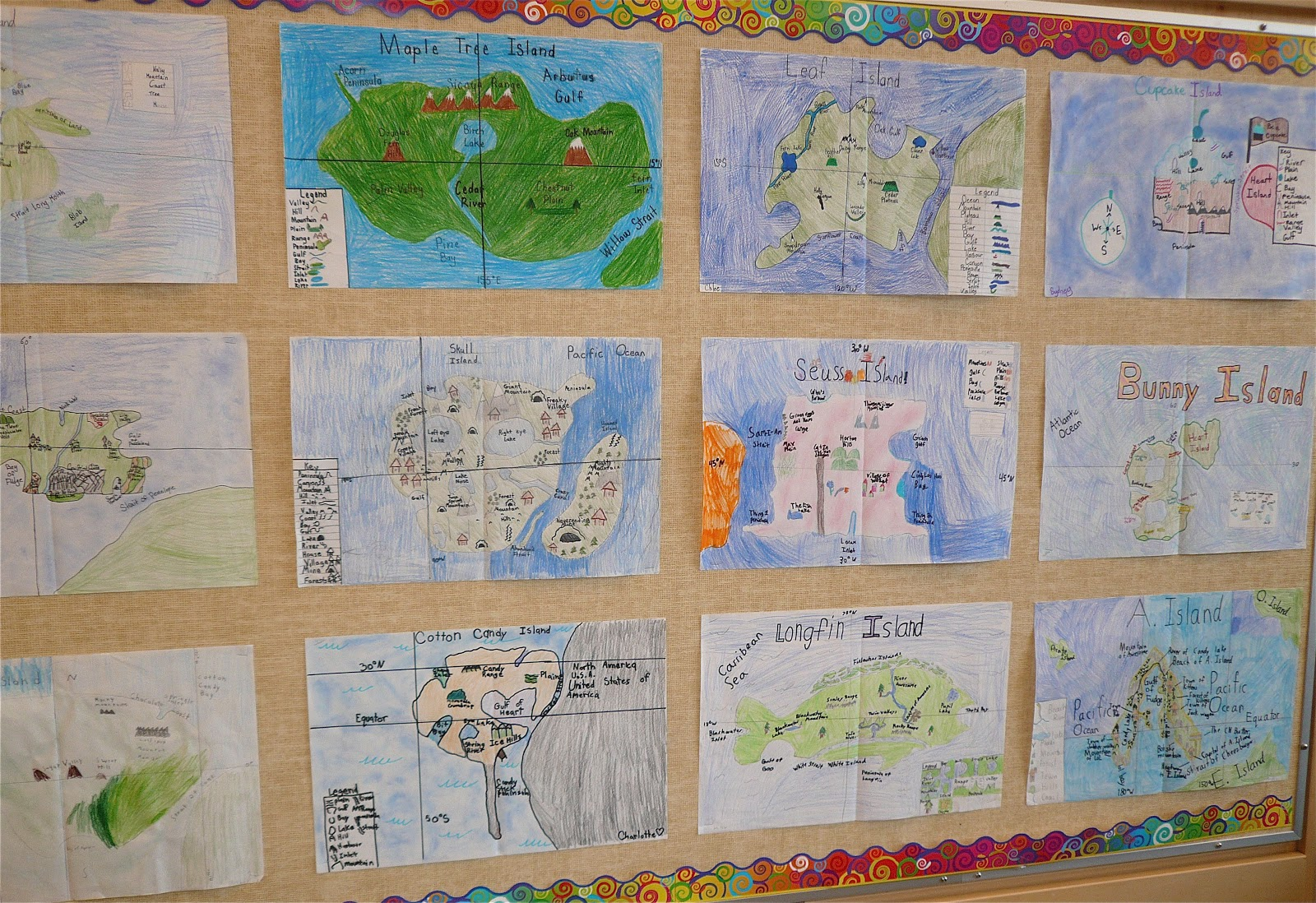 Our Classroom Page: Island Map Project