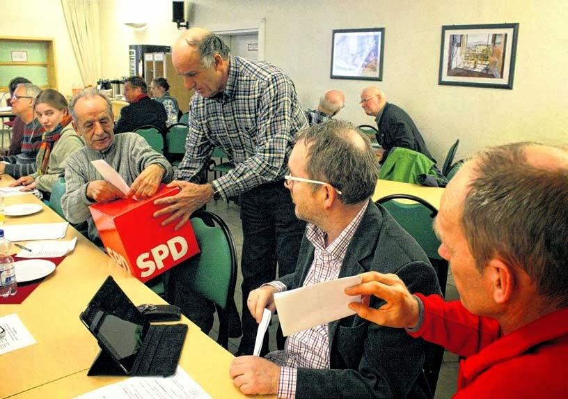 Die SPD-Mitglieder des Ortsvereins haben entschieden, wer beim Wahlkampf in das Rennen gehen soll. Es gab aber Diskussionen darüber, wer auf welchem Listenplatz stehen soll. FOTO: INE