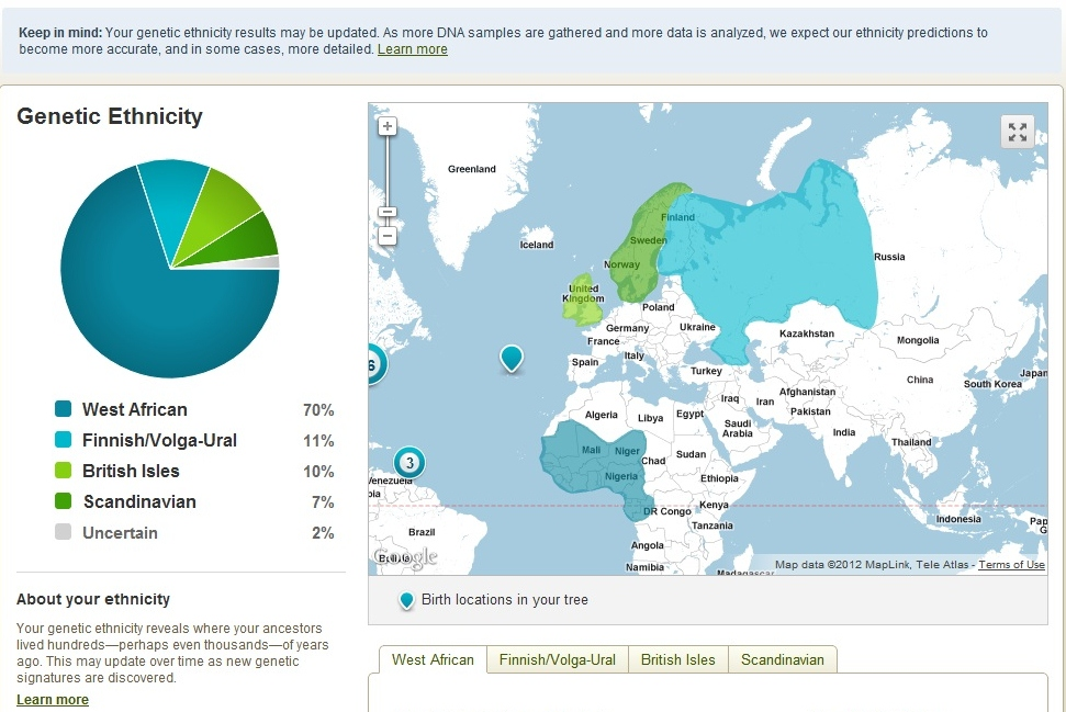 ancestry dna project