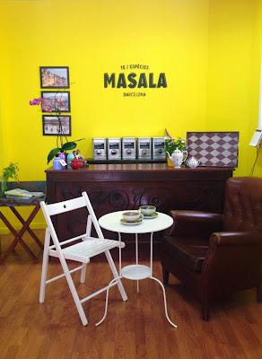 Tienda de té Masala Barcelona