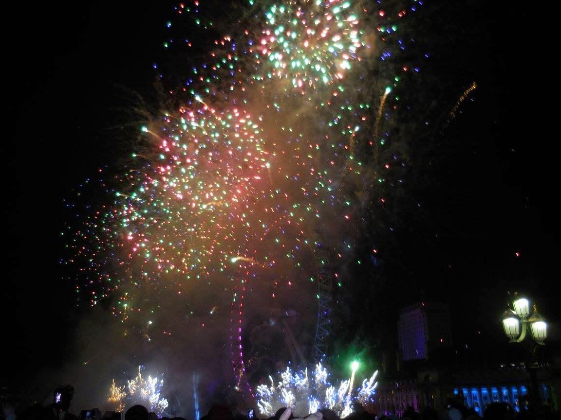 Feuerwerk London