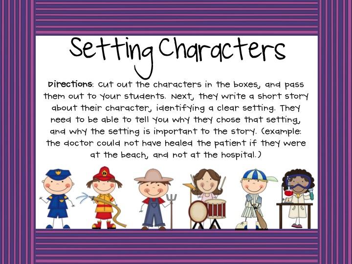 narrative essay directions