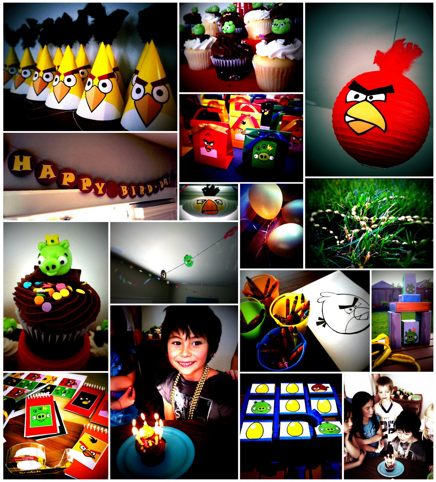 The contemplative creative angry birds birthday party for Angry birds party decoration ideas