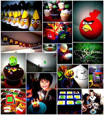 Redfly creations march 2012 for Angry birds party decoration ideas