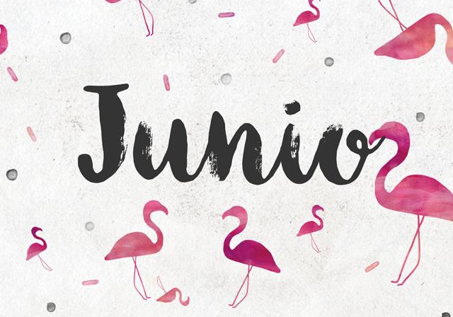 milowcostblog: calendario de junio: imprimible y fondo