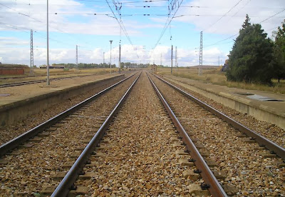 vías del tren