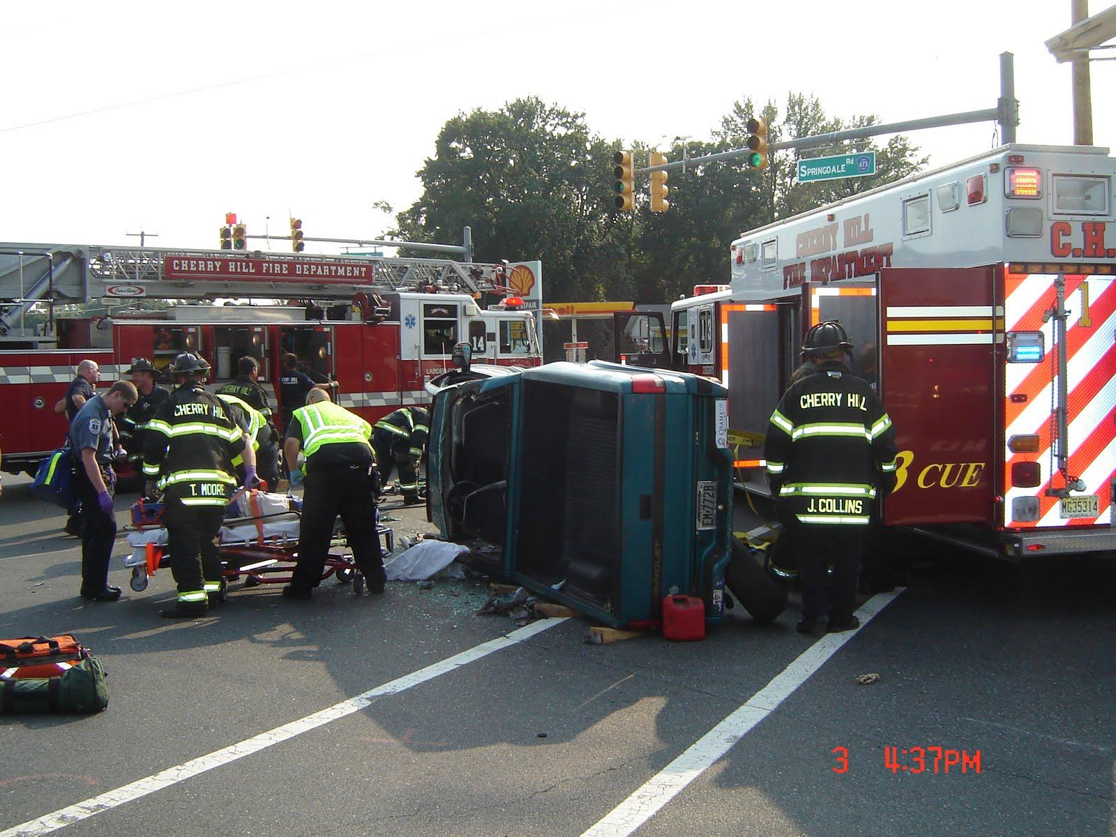 Evesham Township Car Accident