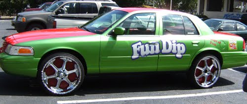 Donk Cars Covered in Candy Paint