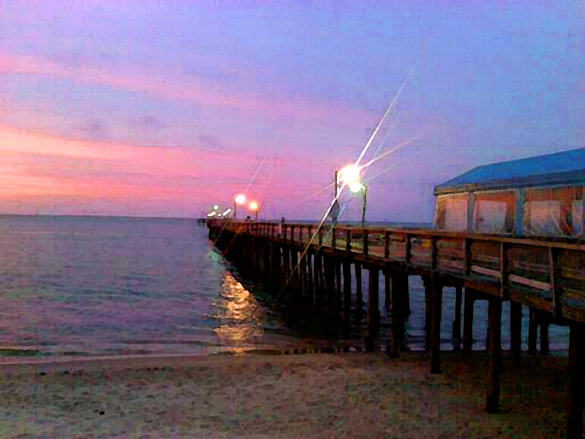 Lynnhaven fishing pier closes it 39 s gates for the last time for Lynnhaven fishing pier report