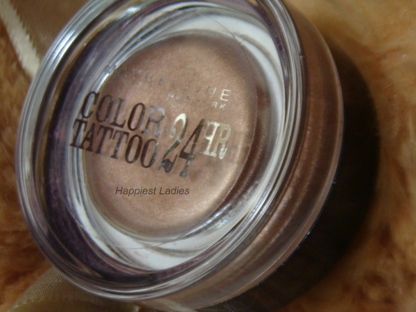 Maybelline Color Tattoo 24 hour Eyeshadow On and On Bronze Review+maybelline color tattoo