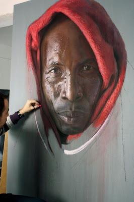 The Photo-Realistic Pastel Drawings of Ruben Belloso Adorna