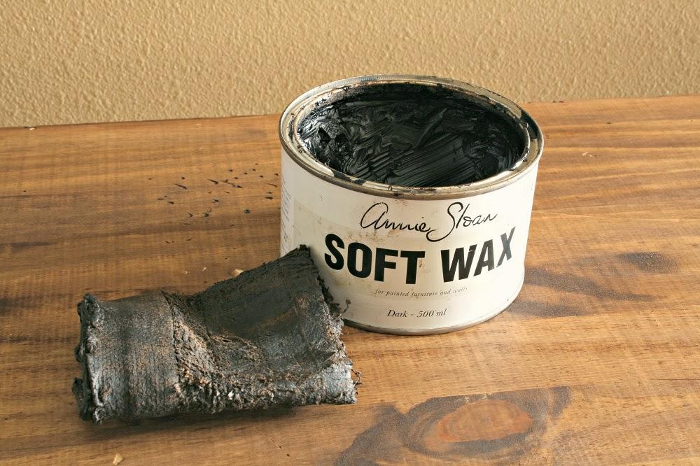 annie sloan, dark wax stain, diy kitchen island, narrow kitchen island, kitchen console, annie sloan stripped paint finish