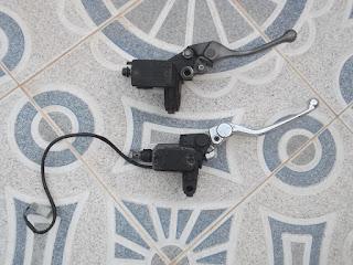 Replacing brake pump KTM 640