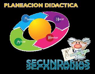 Formatos para Planificación por Asignatura como Modalidad Secundaria