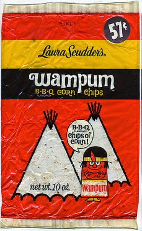 Wampum corn chips