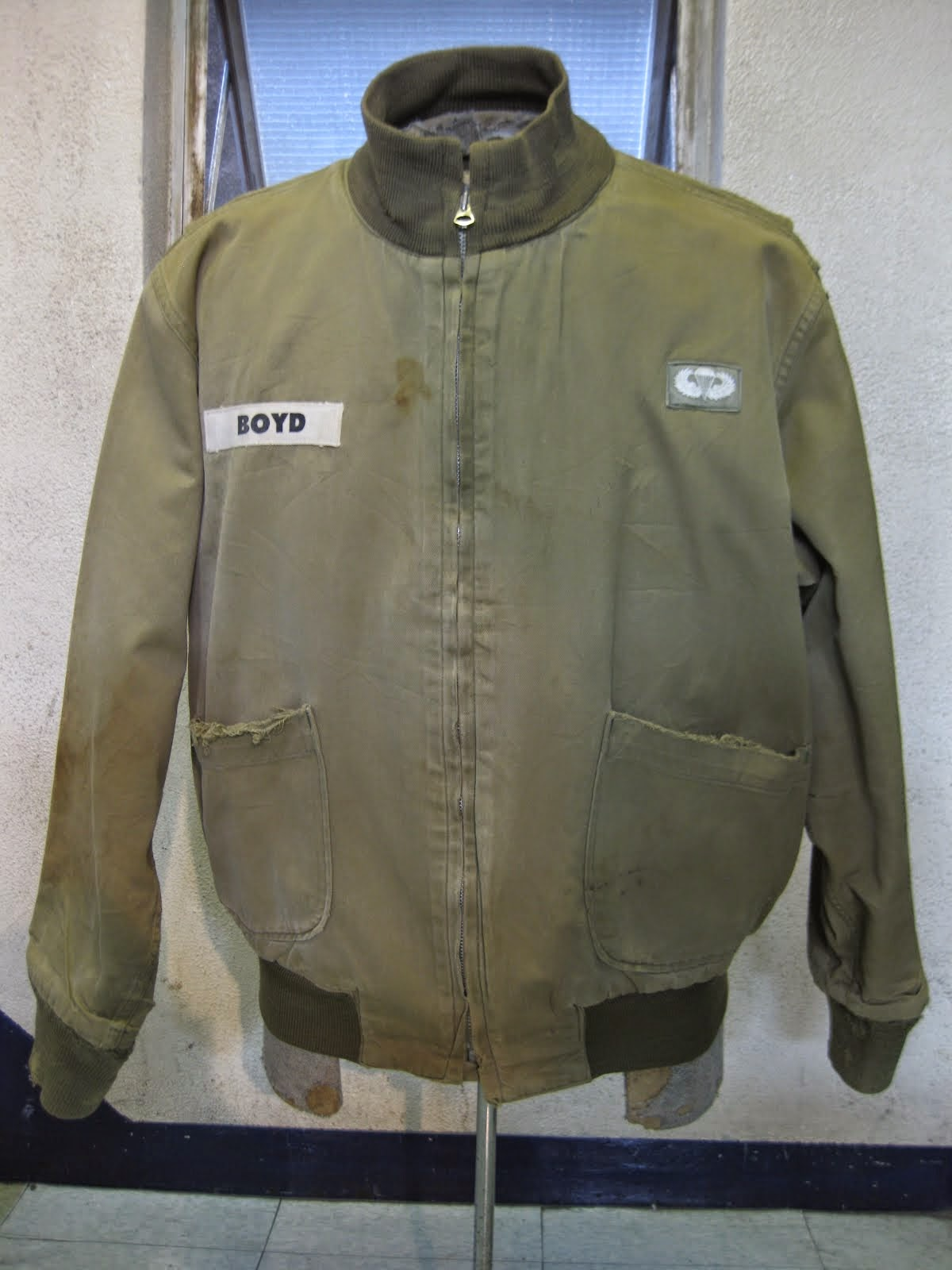 early 40's W.W.2               1st EDITION                TANKERS JACKET               パッチPOCKET