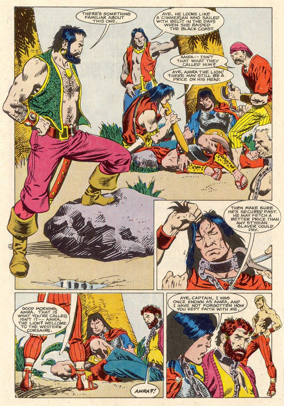 Conan the Barbarian (1970) Issue #186 #198 - English 7