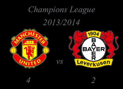 Man United vs Bayer Leverkusen August 2013