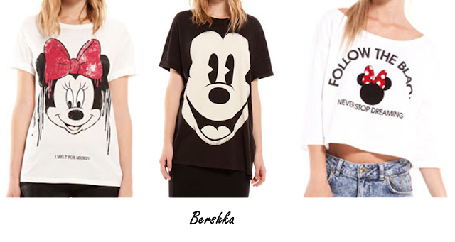Minnie Mouse, Bershka tshirt