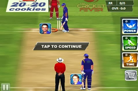 Gameplay IPL Cricket Fever 2014