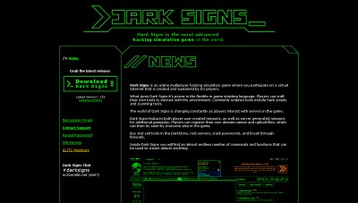 Dark Signs, Desktop game