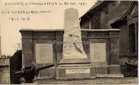 Monument de Merlimont par Jules Déchin