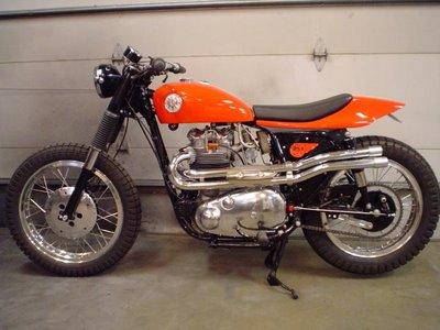 1958 BSA 650 BSA Bobber