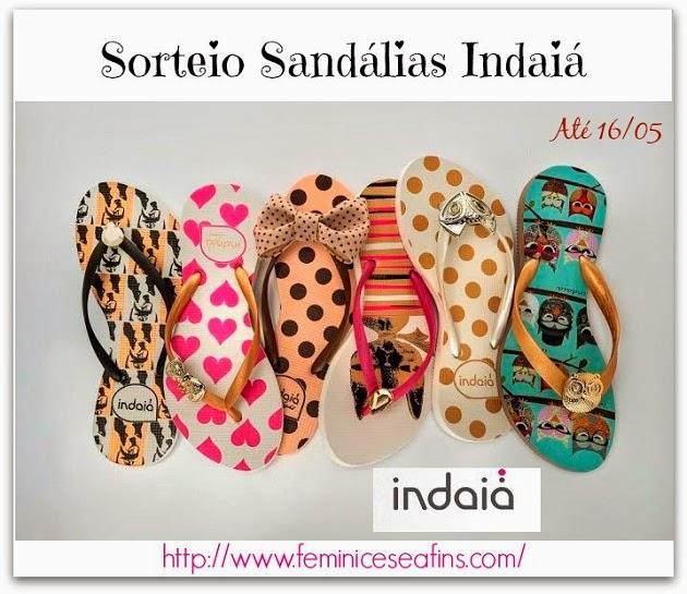 Sorteio Sandálias Indaiá