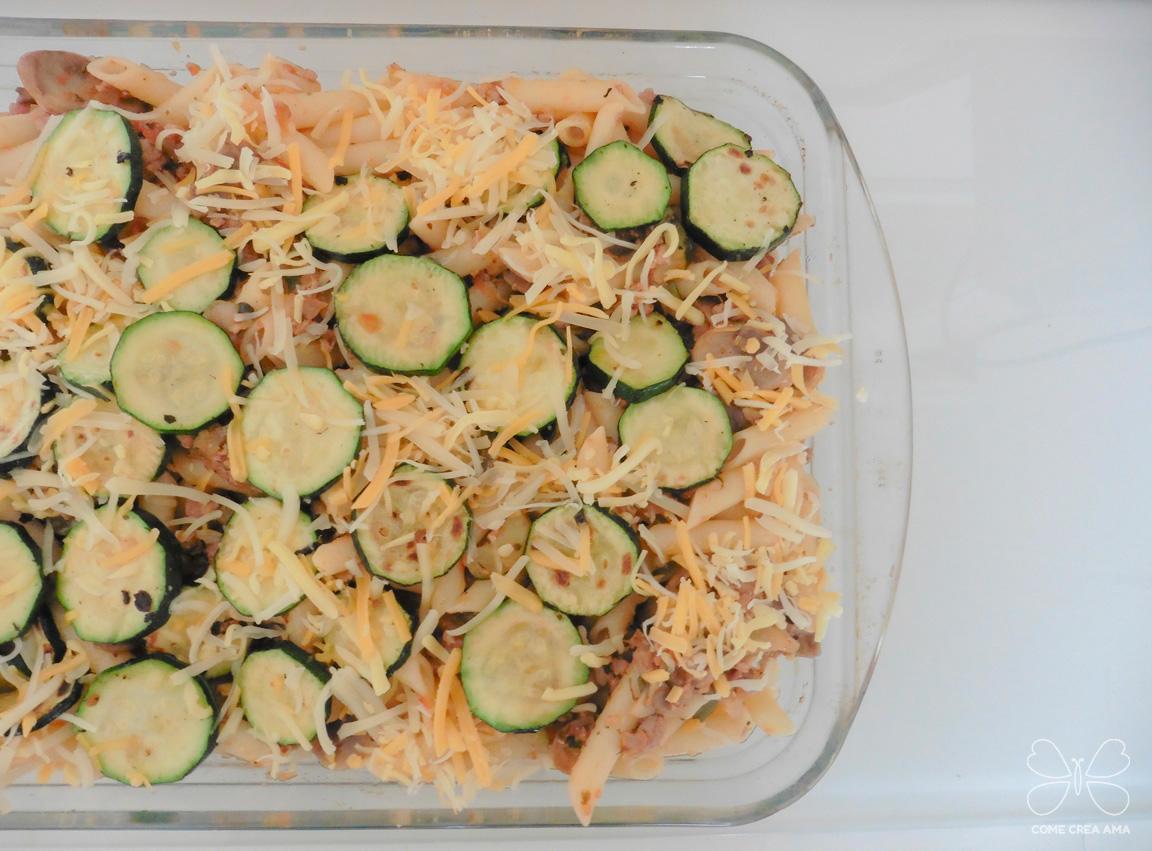receta macarrones al horno con verduras