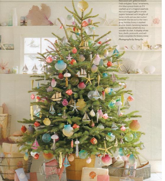 Christmas Tree Decoration Ideas Martha Stewart : Beachnut lane christmas trees