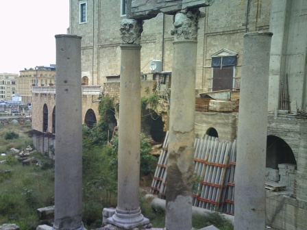 Roman ruins Beirut